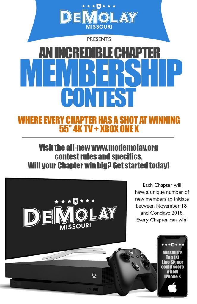 Missouri DeMolay Membership Drive