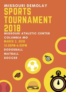 Missouri DeMolay Sports Tournament 2018