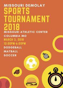 Missouri DeMolay Sports Tournament 2018