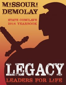 2016 Missouri DeMolay Yearbook