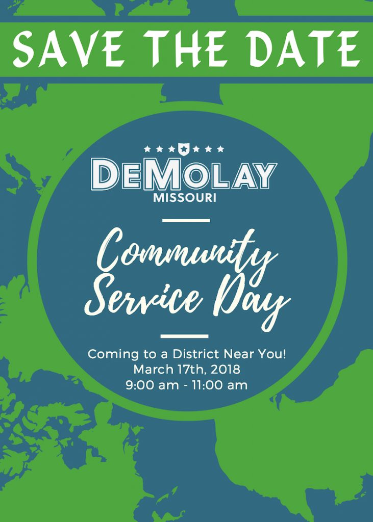 DeMolay Community Service Day