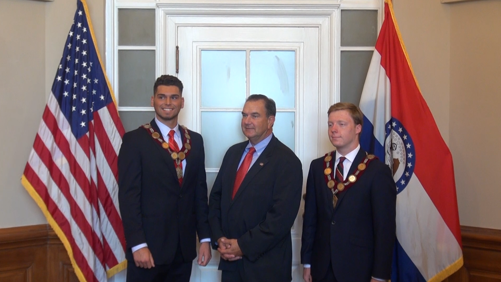 DeMolay and Lieutenant Governor Mike Kehoe
